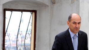 Sloveniens premiärminister Janez Jansa