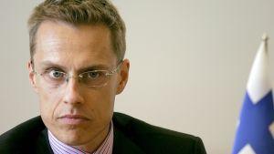 Finlands utrikesminister Alexander Stubb