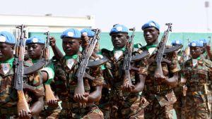 Afrikanska unionens  fredsbevarare i Sudan