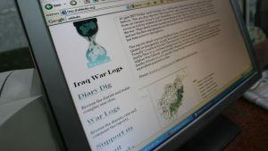 En bild av Wikileaks Irak-avslöjanden