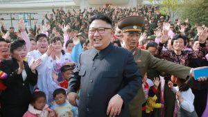 Nordkoreas dikatator Kim Jong-Un besökte de två nordkoreanska öarna Mu och Jangjae i början av maj. 5.5.2017
