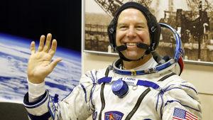 Den finskättade Nasa-astronauten Timothy Kopra
