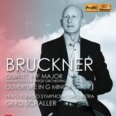 Bruckner äänitteen kansi