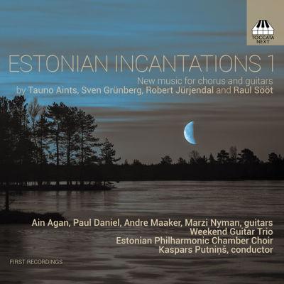 Estonian Incantations vol. 1 äänitteen kansi