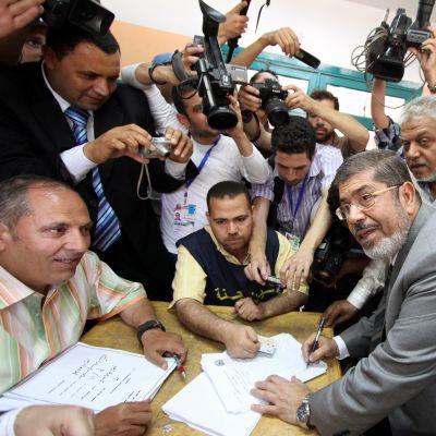 Mohammed Mursi inför valet 23.05.12