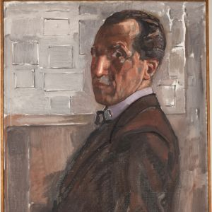 Selbstporträt, 1918