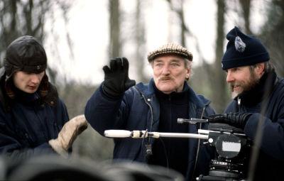 Åke Lindman filmar Din vredes dag, 1991