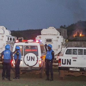 FN:s fredsbevarare i Mali 2017.