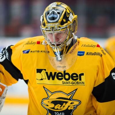Niclas Westerholm i SaiPas tröja.