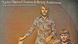 Benny Anderssons och Björn Ulvaeus första album Lycka.