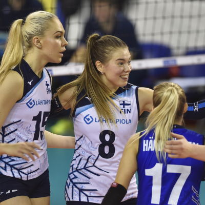 Finlands damlandslag i volleyboll.
