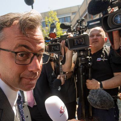 Den österrikiska presidentkandidaten Norbert Hofer.