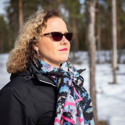 Sanna-Liisi Kaski sai kriisissään avun henkisestä ensiavusta Seinäjoen keskussairaalassa.