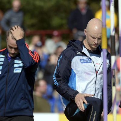 Teemu Wirkkala snuvade Antti Ruuskanen på den tredje finländska VM-platsen i spjut.
