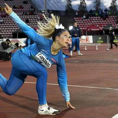 Ruotsi-ottelu Julia Valtanen