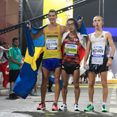 Perseus Karlström, Toshikazu Yamanishi ja Vasili Mizinov