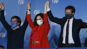 Partido Popular tog en jordskredsseger i Madrid
