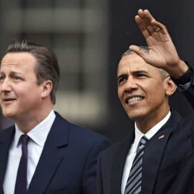 David Cameron och Barack Obama