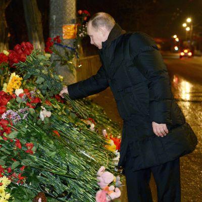Putin överraskade Volgogradborna med ett besök