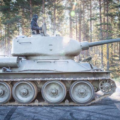 T 34 pansarvagn i Harparskog.