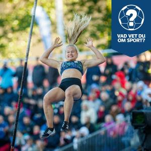 Saga Andersson hoppar.
