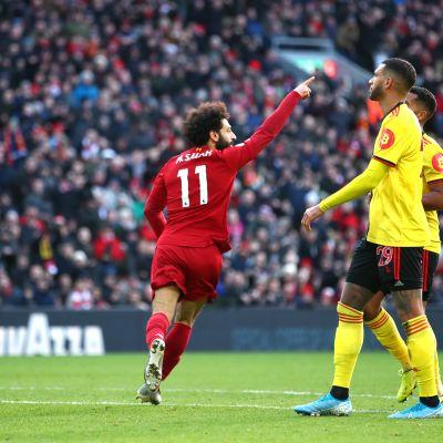 Mohamed Salah kuritti Watfordia