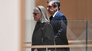 François och Penelope Fillon fick sina domar 29.6.2020