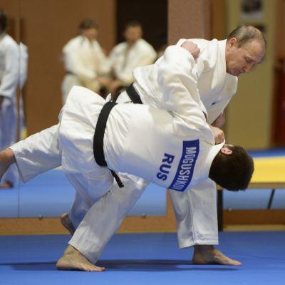 Vladimir Putin i judotagen