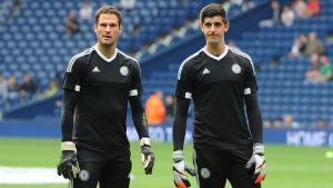 Asmir Begovic och Thibaut Courtois.