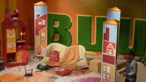BUU-klubbens studio innan förnyelsen