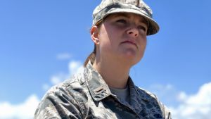 Paige Mehringer på Cape Canaveral