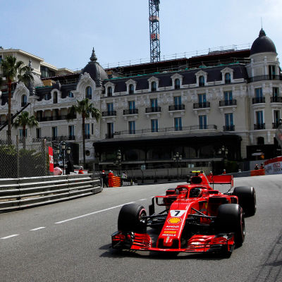 Kimi Räikkönen i Monaco