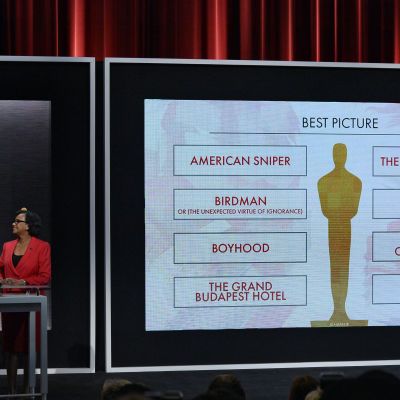 Oscarsnomineringarna tillkännagavs i Beverly Hills den 15 januari 2015.