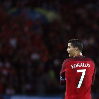 Cristiano Ronaldo (Portugali) UEFA EURO 2016 EM-jalkapallo