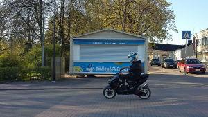 Glasskiosk i Fredrikshamn