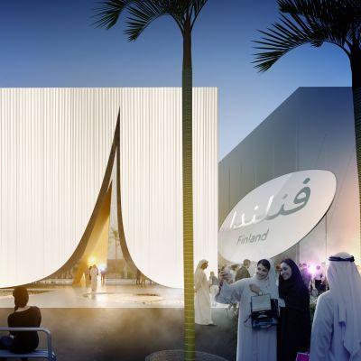 Suomi osallistuu Arabiemiraattien isännöimään vuoden 2020 maailmannäyttelyyn Lumi-nimisellä paviljongilla. Sen on suunnitellut JKMM-arkkitehtitoimisto.