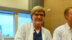 Mari-Anne Vaittinen är överläkare i kardiologi.