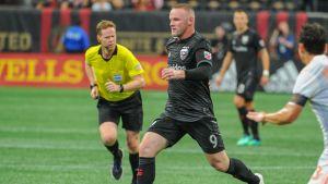 Mot Atlanta gjorde Wayne Rooney sin första MLS-start.