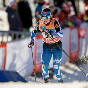 Krista Pärmäskoski i elden i Drammen 2016.