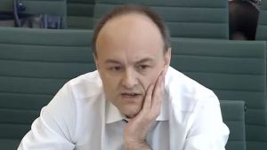 Den brittiska politiska strategen Dominic Cummings.