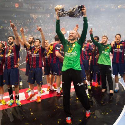FC Barcelona vann Champions League 2014-2015.