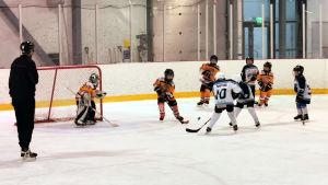 Ice Team raseborg spelar match mot HC Kurra.
