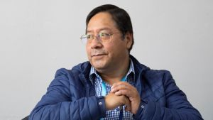 Luis Arce har ett starkt stöd bland de fattiga i Bolivia och bland landets ursprungsbefolkning.