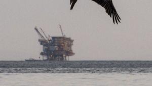 Oljeläcka utanför den kaliforniska kusten den 20 maj 2015.