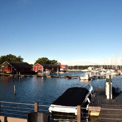 Gästhamnen i Ekenäs.