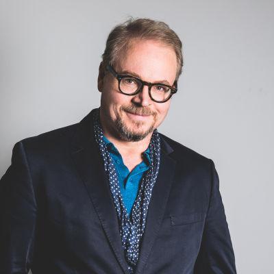 Personporträtt på Fredrik Lindström.