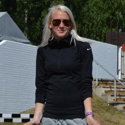 Sandra Eriksson i Vasa 2013.