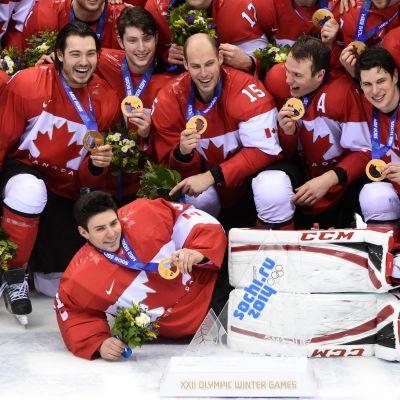 Kanadas herrar vann OS-guld i Sotji.