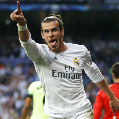 Gareth Bale avgjorde semifinalen mot Manchester City.