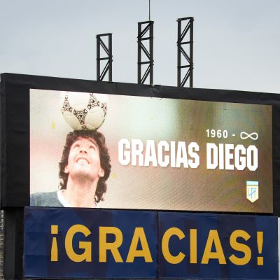 Diego Maradonaa muisteltu Argentiinassa